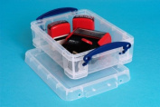 Really Useful 1.75 Litre Storage Box Clear [Pack of 8]