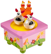 """MusicBox Kingdom 43809 Dancing Dogs Music Box Playing """"You are My Sunshine"""""""