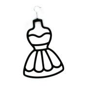 Black Dress Scarf Hanger Wardrobe Organiser