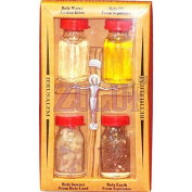 Holy Land Elements Set With Cross Holy Items From Bethlehem