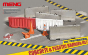 Meng Model 1/35 Concrete and Plastic Barrier Set