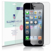 iLLumiShield - Apple iPhone 5 (5th Generation) Anti-Glare (Matte) Screen Protector + Full Body Front and Back HD Clear Film / Anti-Bubble & Anti-Fingerprint / Premium Japanese High Definition Invisible Crystal Shield - Free LifeTime Warranty - [3-Pack] ..