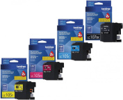 for Brother Printer LC107BK Super High Yield Cartridge Ink, Black