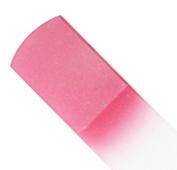 Genuine Czech Coral Pink Crystal Glass 16cm Spa Bar Slab Foot File
