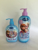 Frozen All in One Shower Gel Shampoo Conditioner and Hand Soap Set