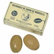 Marius Fabre Olive Oil Marseilles Soap Refills for Wall-Mount Rotating Holder