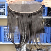 Eayon Hair® 6a Brazilian Straight Hair Lace Frontal Closure with Baby Hair Bleached Knots 100% Human Hair 13*4 Lace Frontal 30cm