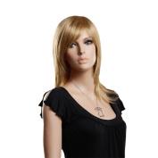 Weeck Long Medium Length Blonde Party Girl's Cosplay Wigs