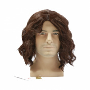 Xcoser Costumes The Handsome Winter Soldier Cosplay Bucky Brown Film Level Wig+Wig Sets