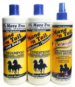 Mane N Tail Original Shampoo, Conditioner & Detangler Set