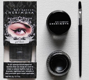 "CHERIMOYA Gel Eyeliner with Mini Brush Applicator - ""Black"""