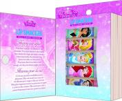 Lip Smacker Disney Story Book, Disney Princess Lip Gloss Set, 5 Count