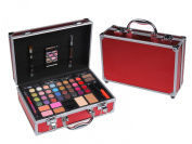 Cameo Carry All Trunk Train Case with Make up and Reusable Aluminium Case