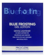 Professional Blue Frosting Gel Lotion 12 x 13g Sac