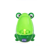 HAPPYMALL loverly Frog Baby Toilet Training Children Potty Urinal Pee Trainer Urine For Boys With Funny Aiming Target