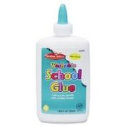 School Glue, Washable, 220ml, White, Sold as 1 Each