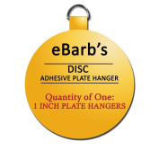 eBarb's Original Invisible English Plate Hanger Disc--3.2cm -For Plates up to 10cm in Diameter