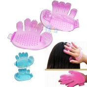 ็็Hair shampoo scalp head massage massager brush comb Hair Care