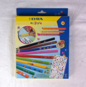 LYRA myStyle Coloured Pencils 10 pack