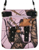 Mossy Oak Cross Body Bag Pink Camo Purse Messenger Style Bag