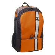 DadGear Backpack Nappy Bag - Orange Retro Stripe by DadGear