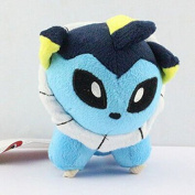 11cm 1pcs/set Pokemon Vaporeon Figure Soft Stuffed Animal Plush Toy