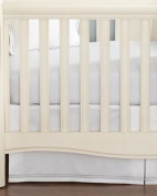 Hudson Park Collection Percale Baby Crib Skirt - Sunshine