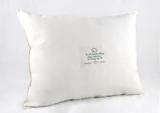 Eco-friendly Toddler Pillow 14 X 18 Organic Cotton Cover 300 Thread Count and Eco-friendly Fill