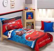 Disney Cars Team Lightening 4-Piece Toddler Bedding Set