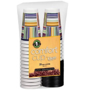 Comfort Cup By Chinet Cups and Lids, 470ml, 40 Pc