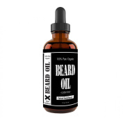 Spiced Sandalwood Scent - Leven Rose Beard Oil and Leave-in Conditioner - Best Scented Beard Oil 100% Pure Organic Natural for Groomed Beard Growth, Moustache, Skin for Men - 30ml - Premium Oils