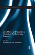 Quantitative and Qualitative Methods in Psychotherapy Research