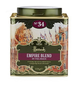 Harrods London. Gift Tin Caddy, No. 34 Empire Blend, 50 Tea Bags 125g 130ml Gift Tin Caddy (1 Pack) Seller Product Id Emp0965