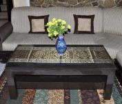 TLC00106 Vintage Ethnic Hippie & Paisley Work Design Silk Table Runner 150cm X 41cm