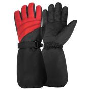 Igloos Boys Nylon Elbow Length Ski Gloves