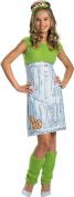 Morris Costumes Girl's SESAME ST OSCAR CHILD LG, 10-12