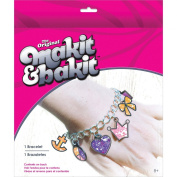 Colorbok Makit and Bakit Girl Charm Bracelet