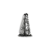 Silver Overlay Cone CSF-287 20X13MM