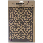 Prima Marketing Elementals Stencil -Lace, 17cm by 26cm