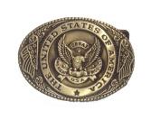 U.s. Eagle Men's Belt Buckles Metal Western American Bolo Tie for Leather Belt