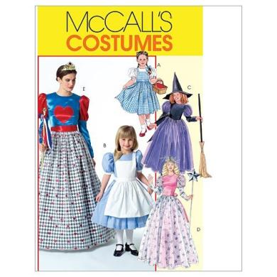 McCall's Patterns M4948 Misses'/Children's / Girls' Costumes, Size KID [(3-4) (5-6) (7-8)]