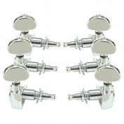 Grover Rotomatic Guitar Tuning Machines 3 per side 102C Chrome