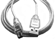 1.5m USB 2.0 to IEEE 1394 4 pin firewire Cable