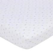 Gerber Knit Crib Sheet - Multi Elephant