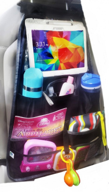 Back Seat Organiser with iPad and Tablet Holder