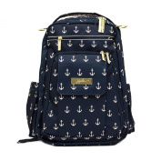 Ju-Ju-Be Nautical Legacy Collection Be Right Back Backpack Nappy Bag, The Admiral