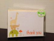 Baby Animals Thank You Cards