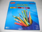 STAEDTLER - COLOURED PENCILS - 48 PENCILS By Staples