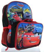Disney Pixar Cars 38cm Backpack with Lunch Bag