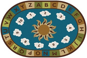Sunny Day Learn and Play Kids Rug Rug Size